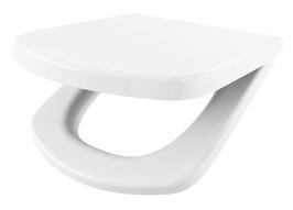 WC Sitz mit Absenkautomatik und Eckig Form / Soft-Close für Dama Senso ROCA