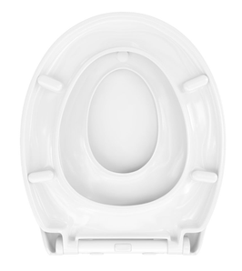 WC Sitz mit Kindersitz Absenkautomatik und Oval-Form / Soft-Close