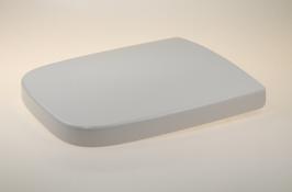 WC Sitz mit Absenkautomatik und Eckig Form / Soft-Close für White VIGOUR /Ersatz/