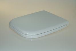WC Sitz mit Absenkautomatik und Eckig Form / Soft-Close für Renova Nr.1 Plan