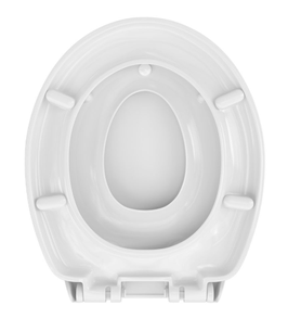WC Sitz mit Kindersitz Absenkautomatik Oval / Soft-Close, Family II