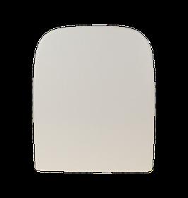 WC Sitz mit Absenkautomatik und Eckig Form / Soft-Close für Happy D2 Duravit