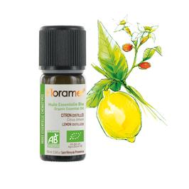 Huile Essentielle de Citron Distillé Biologique 10 ml