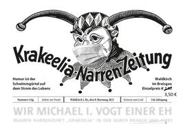 Narrenzeitung 2021  - Extra Extrablatt