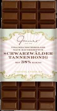 Vollmilch Schokolade Schwarzwälder Tannenhonig