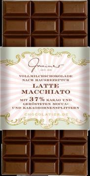Vollmilch Schokolade mit Latte Macchiato