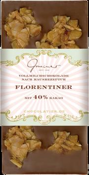 Vollmilch Schokolade Florentiner