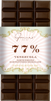 Zartbitter Schokolade Venezuela 77 % Kakao
