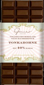 Vollmilch Schokolade mit Tonkabohne