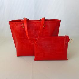 Python Shopper Tasche der Taschenkollektion Flame (Python)