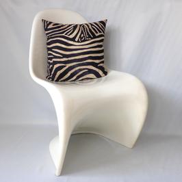 Kissen mit Zebra-Fell-Design quadratisch