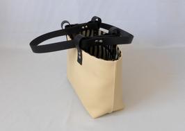 Shopper Tasche mit Streifen im Art Deco Stil