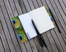Notizbuch mit Hülle passend zur grünen Taschenkollektion / fauxfur