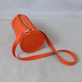 Duffle bag orange with Leopard