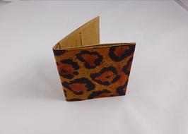 Geldbörse Kork / Leopard