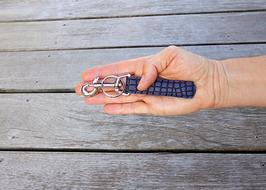 Schlüsselanhänger Purple Python
