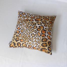 Kissen mit Jaguar-Fell-Design quadratisch