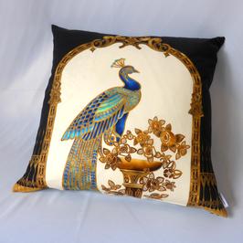 Robert Kaufman Peacock-Kollektion: Art Decó Kissen 60x60