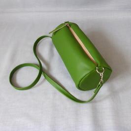 Duffle bag green with Zebra