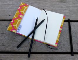 Notizbuch Pink Dekagon