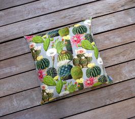 "Kissen ""Kaktusblüte"" 60x60 cm"