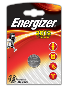 PILA LITIO CR2012 3V  ENERGIZER