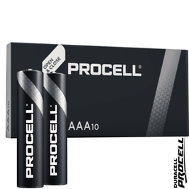 PILE  MINISTILO AAA ALCALINE DURACELL PROCELL 1,5V MN2400