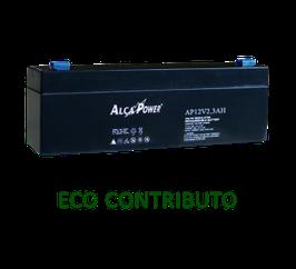 Batteria ricaricabile al piombo  12V   2,3 Ah  Alca Power