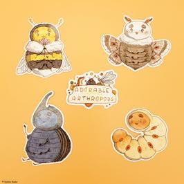 "Sticker ""Adorable Arthropods"""