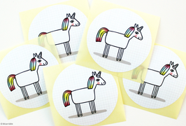 "Sticker-Set ""Einhorn"""
