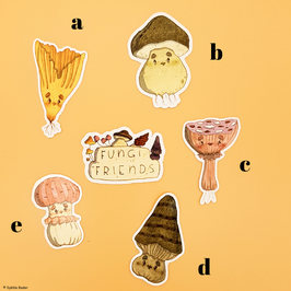 "Sticker ""Funghi Friends"""