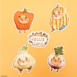 "Sticker ""Veggie Gang"""