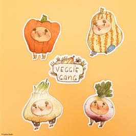 "Sticker ""Veggie Gang"""