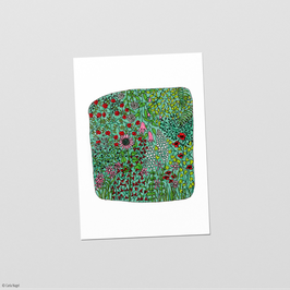 "Postkarte ""Blumenwiese"""
