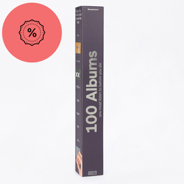 "Poster ""100 Albums"""
