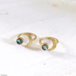 """Ring """"Mond & Erde"""" I"""