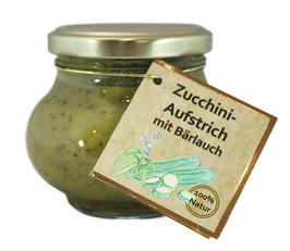 Zucchini-Aufstrich mit Bärlauch