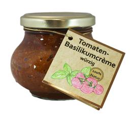Tomaten-Basilikumcrème