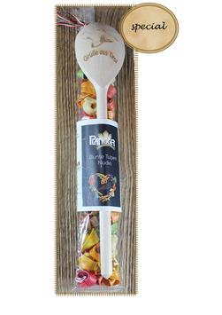 Bunte Tulpen Nudeln mit Kochlöffel 90g