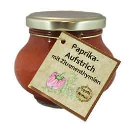 Paprika-Aufstrich mit Zitronenthymian