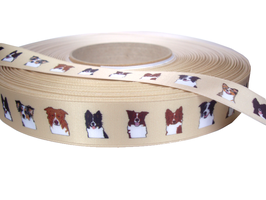 1m Hütehund Portraits Borte Hund, 22mm breit
