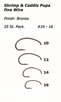Sakana Shrimp & Caddis Pupa Fine Wire