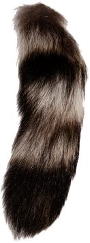 Flies & More Racoon Tail - ganzer Waschbär Schwanz