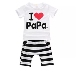 "2-teiliges Set ""I love Papa"""