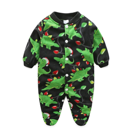 "Babystrampler Fleece ""Dino"""
