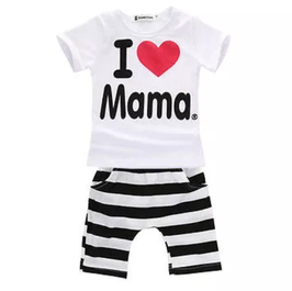 "2-teiliges Set ""I love Mama"""