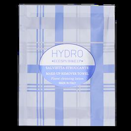 Salvietta struccante arricchita con proteine idrolizzate dell'Avena, acido ialuronico ed estratto di fiordaliso