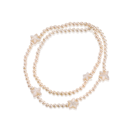 Sternenklar Perlenkette by Meerglanz