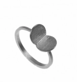Papallones Silber-Ring by Majoral
