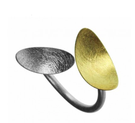 Samoa Gold & Silber-Ring by Majoral